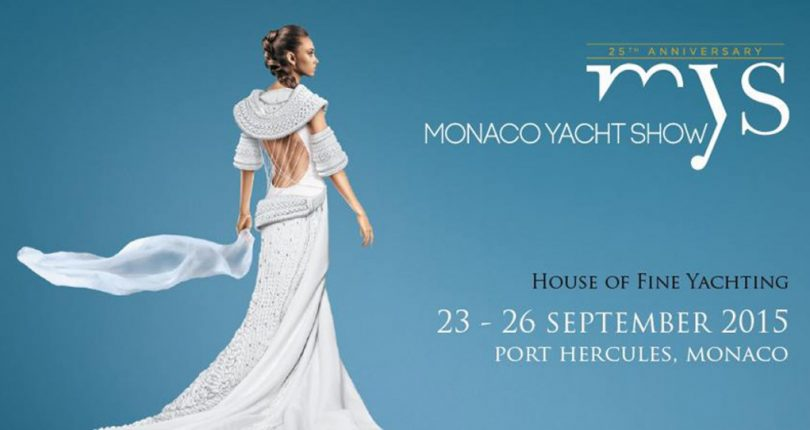 The Monaco Yacht Show 2015, the 25th anniversary