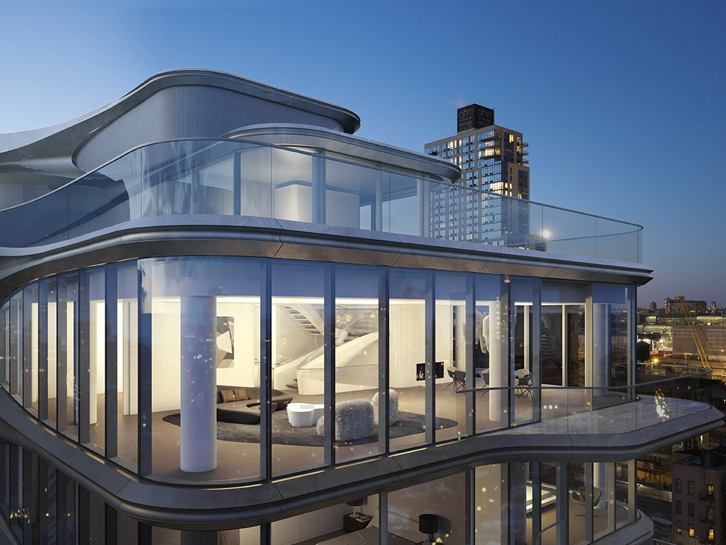 Zaha Hadid Triplex Penthouse, Chelsea, New York | Finest Residences