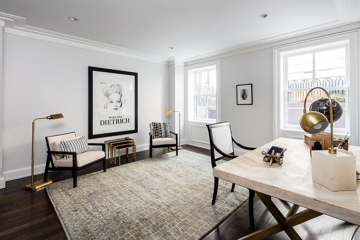 West Village luxury home | Dolly Lenz Real Estate |Finest Residences