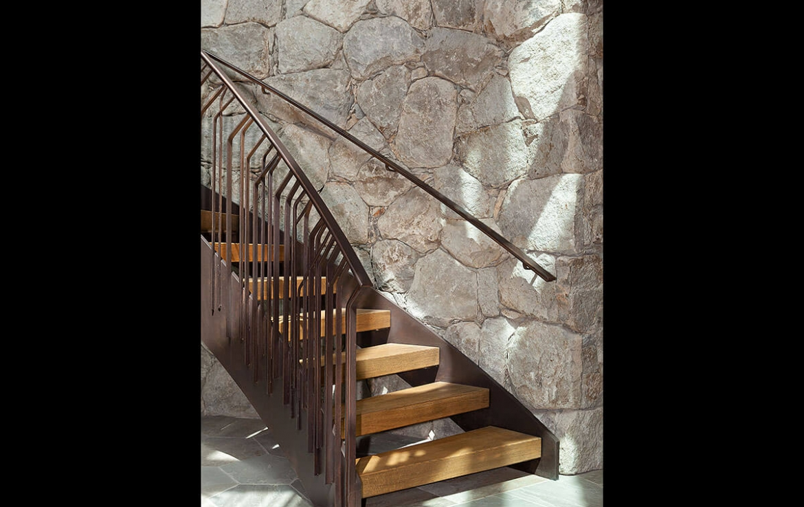 Whistler Estate, Stairs | Vancouver luxury real estate | Harvey Kardos | Finest Residences