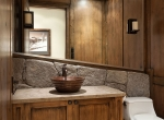 Whistler Estate, Powder Room | Vancouver luxury real estate | Harvey Kardos | Finest Residences