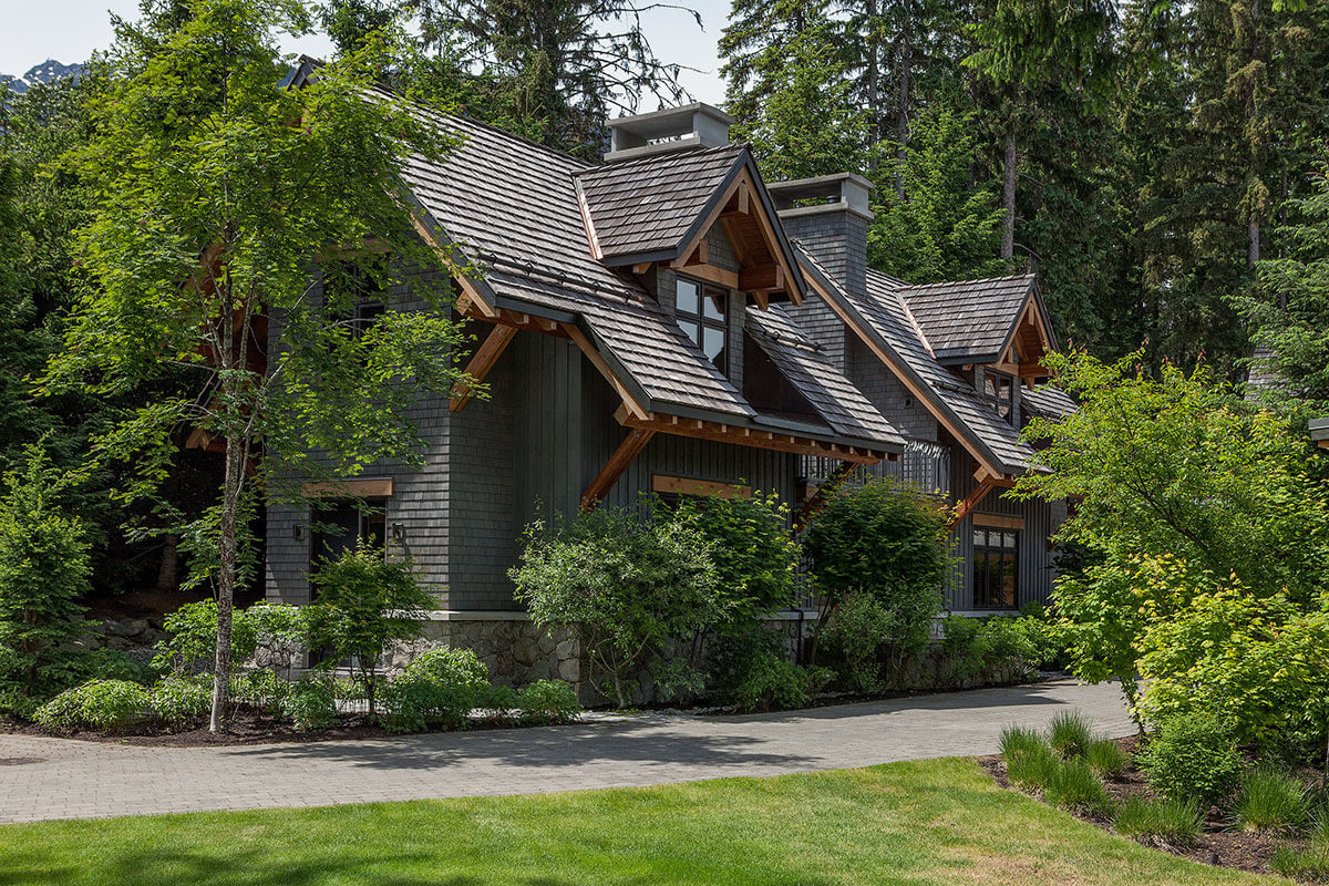 Whistler Estate, Guest House Exterior | Vancouver luxury real estate | Harvey Kardos | Finest Residences