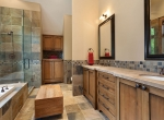 Whistler Estate, Guest House Bathroom | Vancouver luxury real estate | Harvey Kardos | Finest Residences