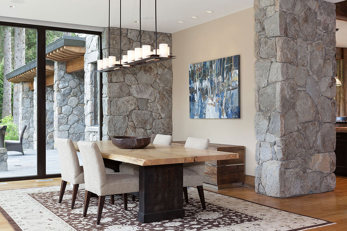 Whistler Estate, Dining | Vancouver luxury real estate | Harvey Kardos | Finest Residences