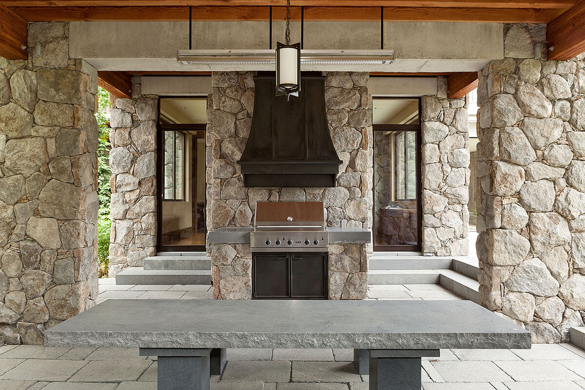 Whistler Estate, Barbecue | Vancouver luxury real estate | Harvey Kardos | Finest Residences