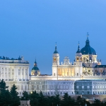 spanish residential real estate market | Almudena Cathedral and Royal Palace in Madrid, Spain | Finest Residences
