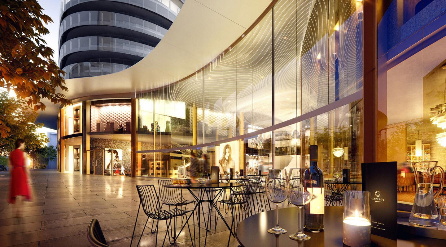 Capitol Grand Penthouse in Melbourne, Australia | Retail |LK Property Group |Finest Residences