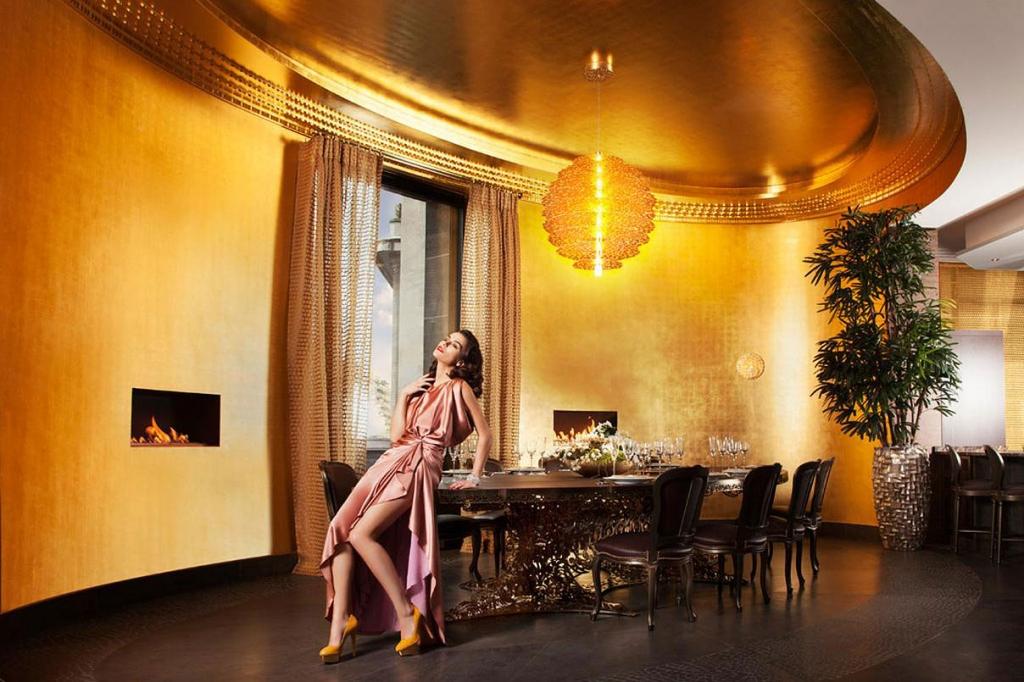 Diamant sur le Parc, the dining room | Luxury Real Estate, Paris 16, France | COGEMAD • Finest Residences