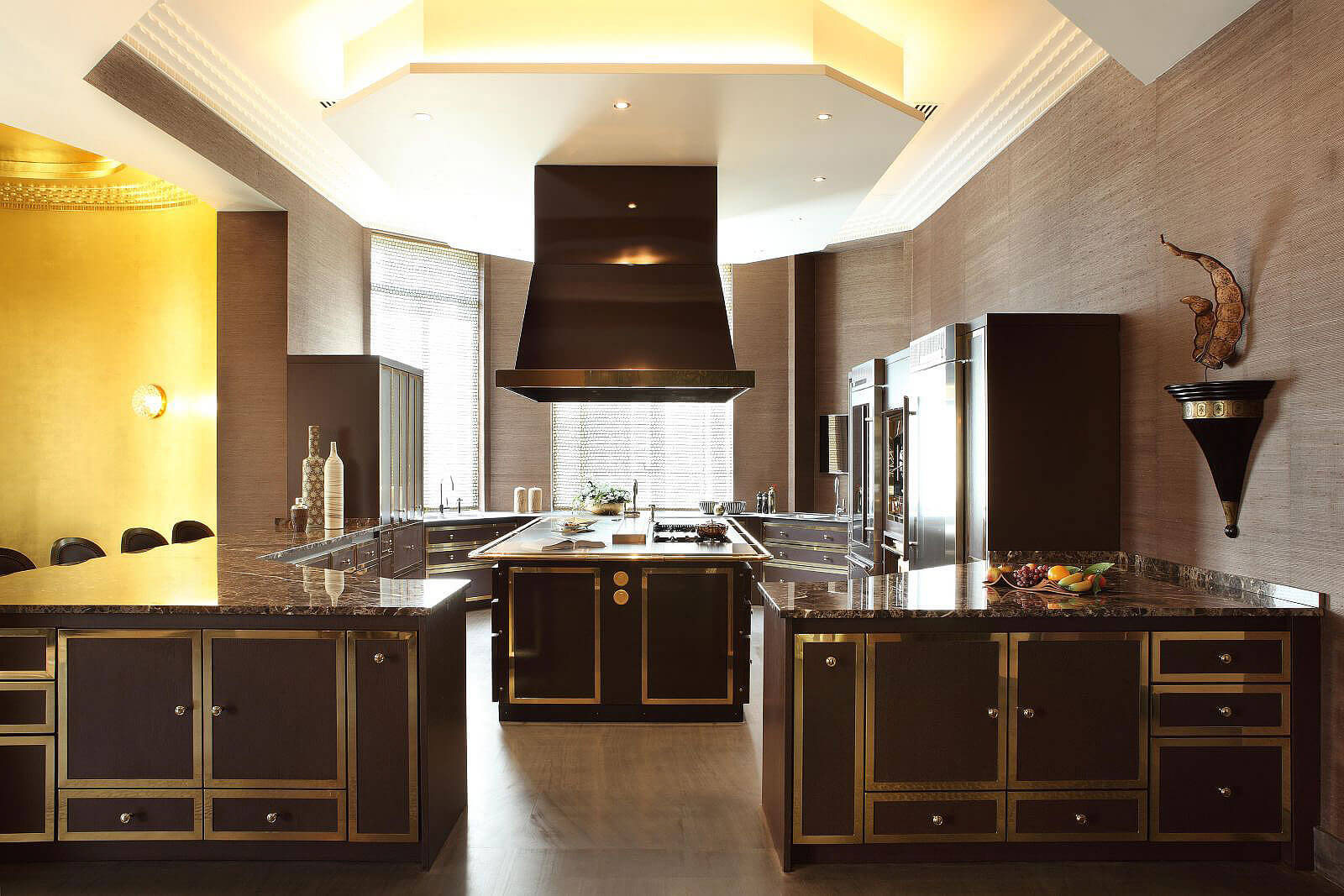 Diamant sur le Parc, the kitchen | Luxury Real Estate, Paris 16, France | COGEMAD • Finest Residences