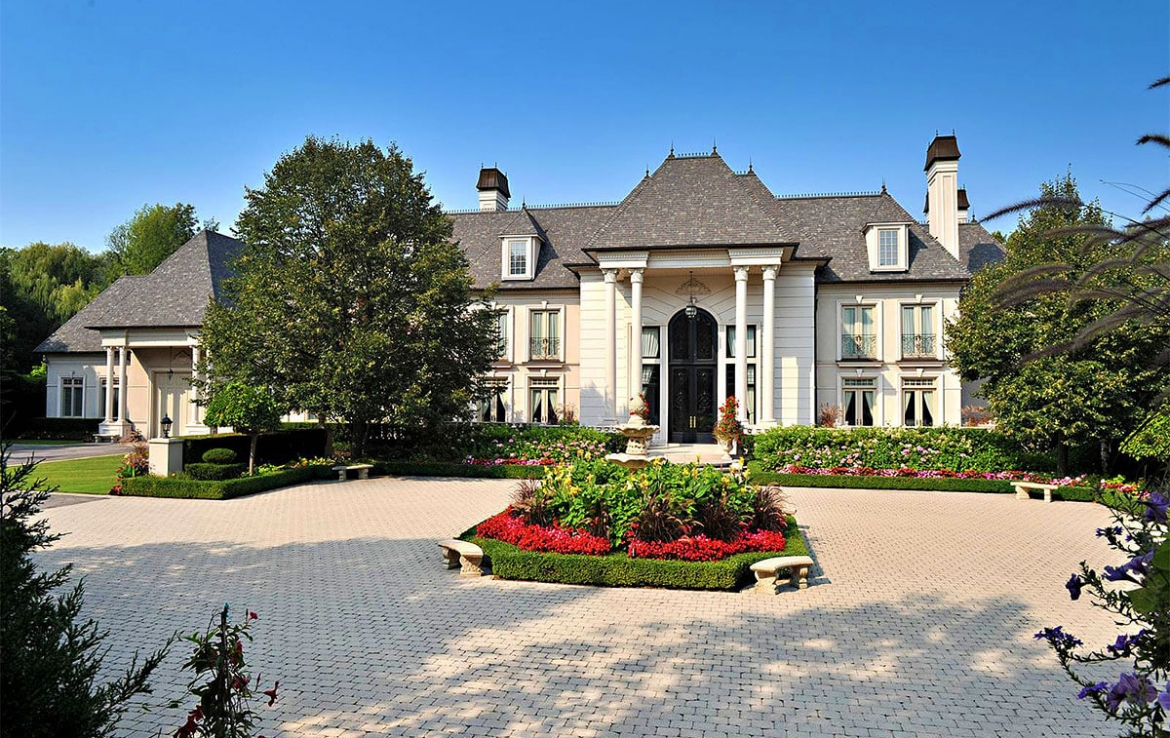 Majestic french chateau in ontario canada finest residences for French luxury homes
