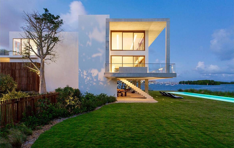 casa bahia waterfront home in miami florida finest