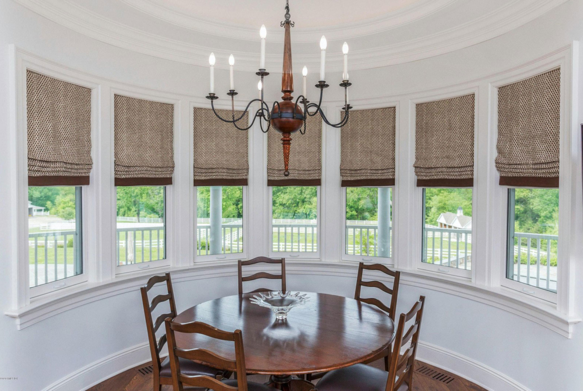 Horse farm, Greenwich CT, USA | Another dining room | Presented by Sally Slater, Douglas Elliman | Finest Residences