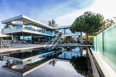 Luxury contemporary villa in anières, Geneva, Switzerland | FINEST RESIDENCES