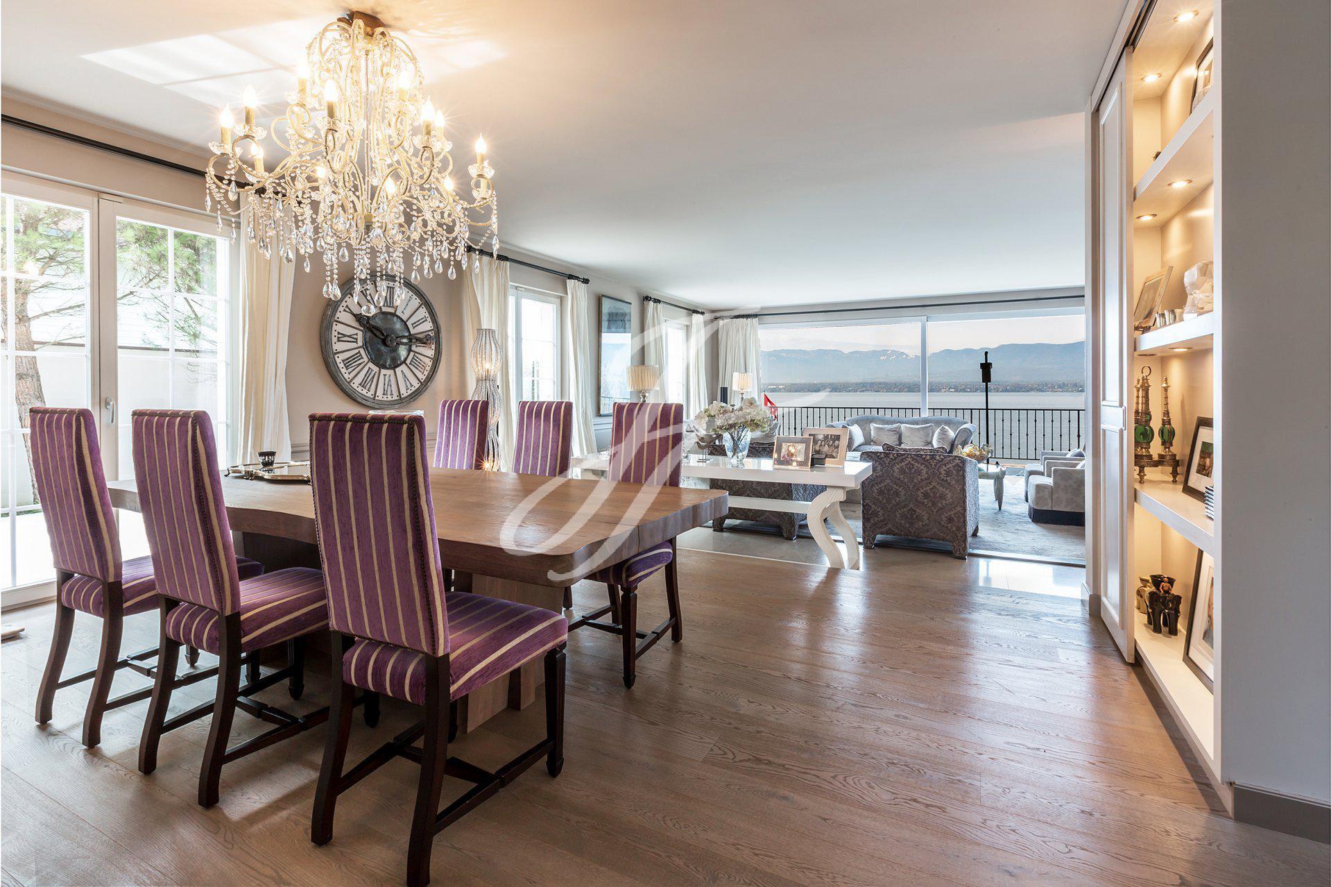 Luxury Waterfront Property For Sale in Geneva Left Bank, Switzerland |John Taylor Switzerland | FINEST RESIDENCES