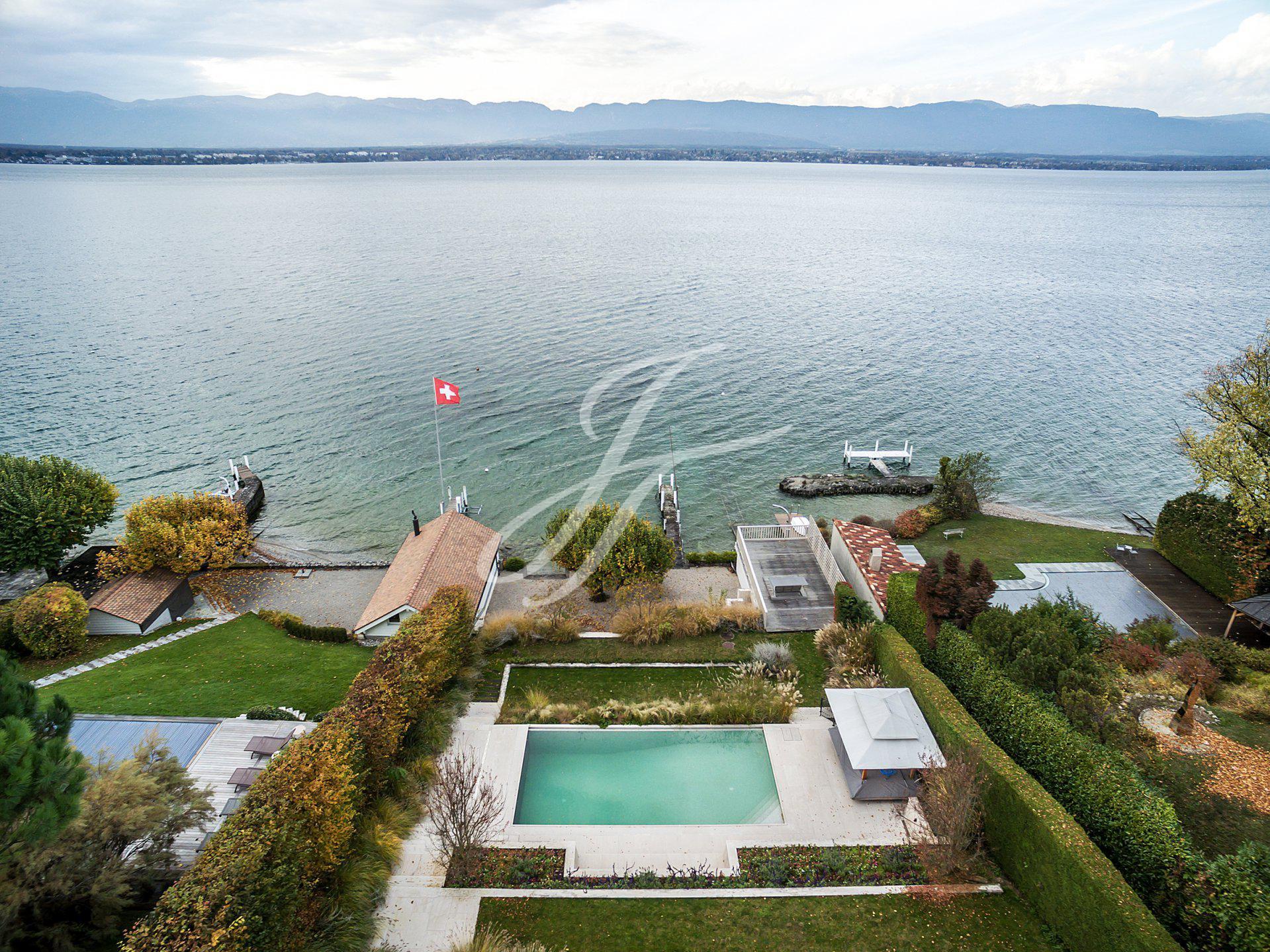 Maison de Luxe à vendre à Genève Rive Gauche, Anières, Suisse |John Taylor Switzerland | FINEST RESIDENCES
