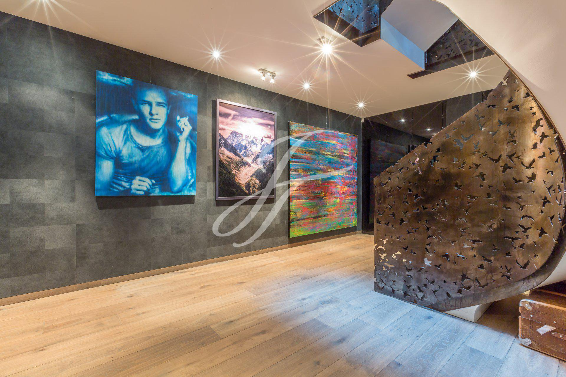Luxueuse villa contemporaine à vendre à Anières, Suisse |FINEST RESIDENCES