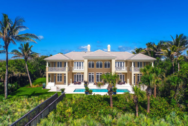 Timeless, Majestic Beachfront Estate, Vero Beach, Florida | Listed in Exclusivity by Dana Lincoln with Olympus Executive Realty Inc for Finest International | FINEST RESIDENCES