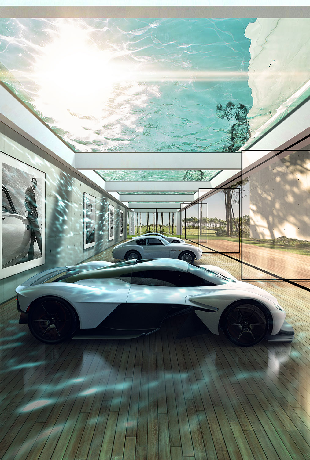 Aston Martin Automotive Galleries and Lairs- evealed at Pebble Beach | FINEST LIVING, the blog of FINEST RESIDENCES