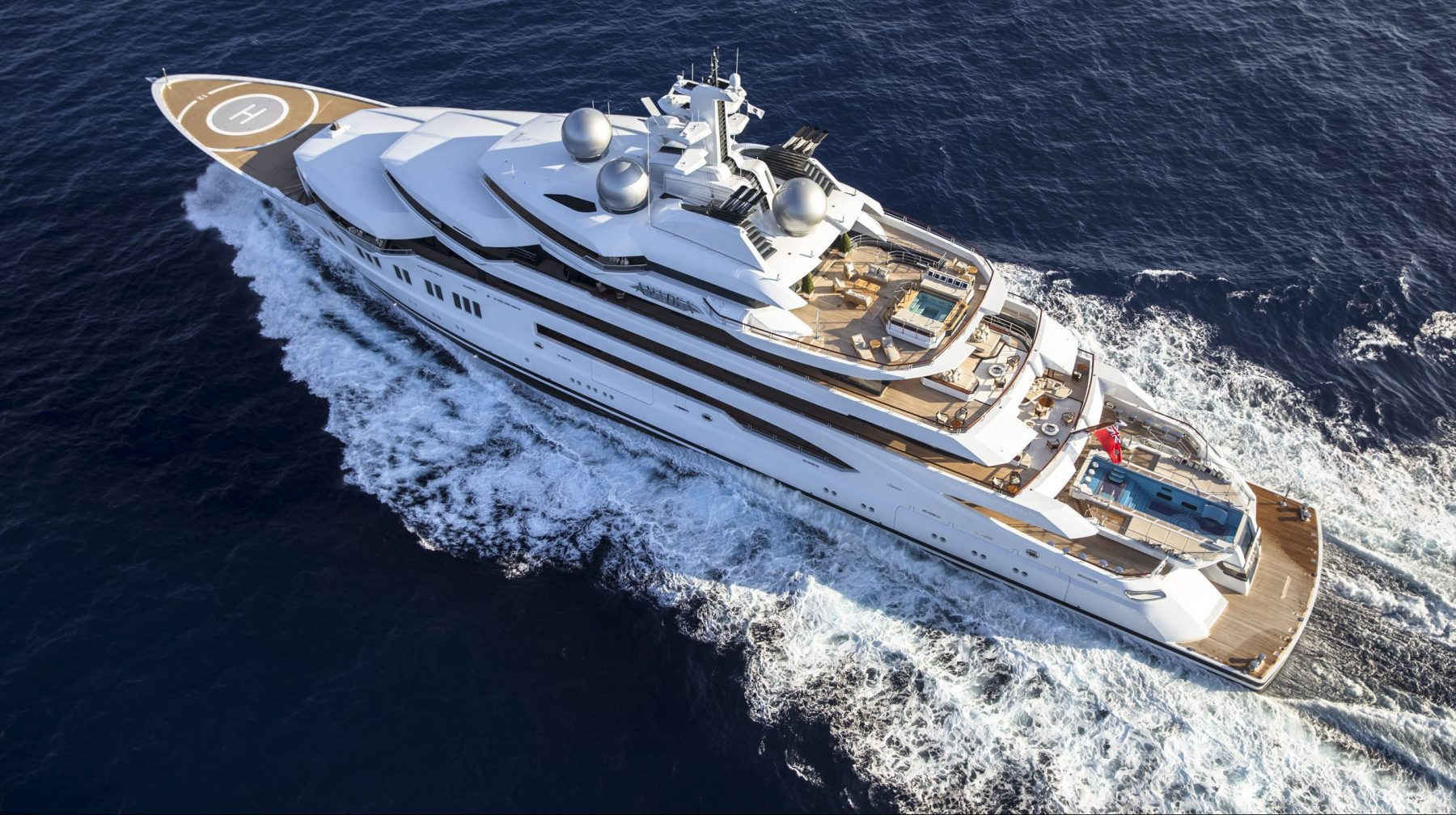 M/Y AMADEA, 106.10m Motor Yacht by LÜRSSEN, showcased at Monaco Yacht Show 2019 | FINEST LIVING | Finest Residences