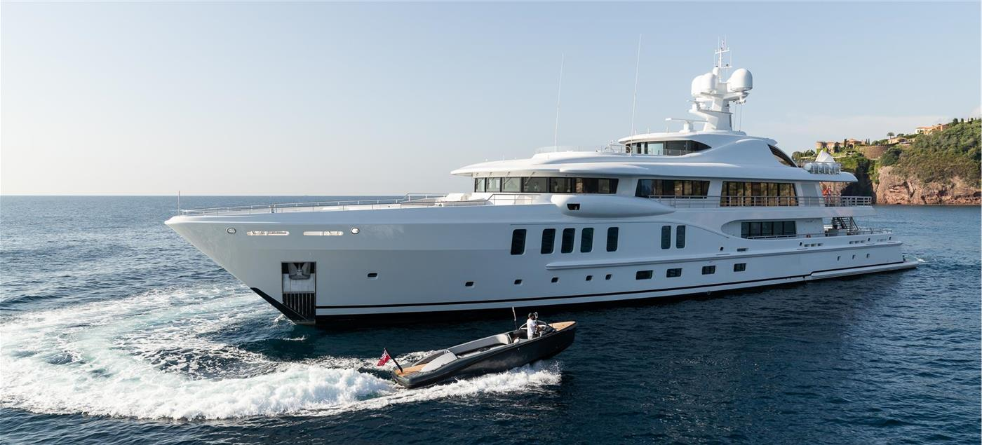 M/Y AURORA BOREALIS, 67m Motor Yacht by AMELS, showcased at Monaco Yacht Show 2019 | FINEST LIVING | Finest Residences