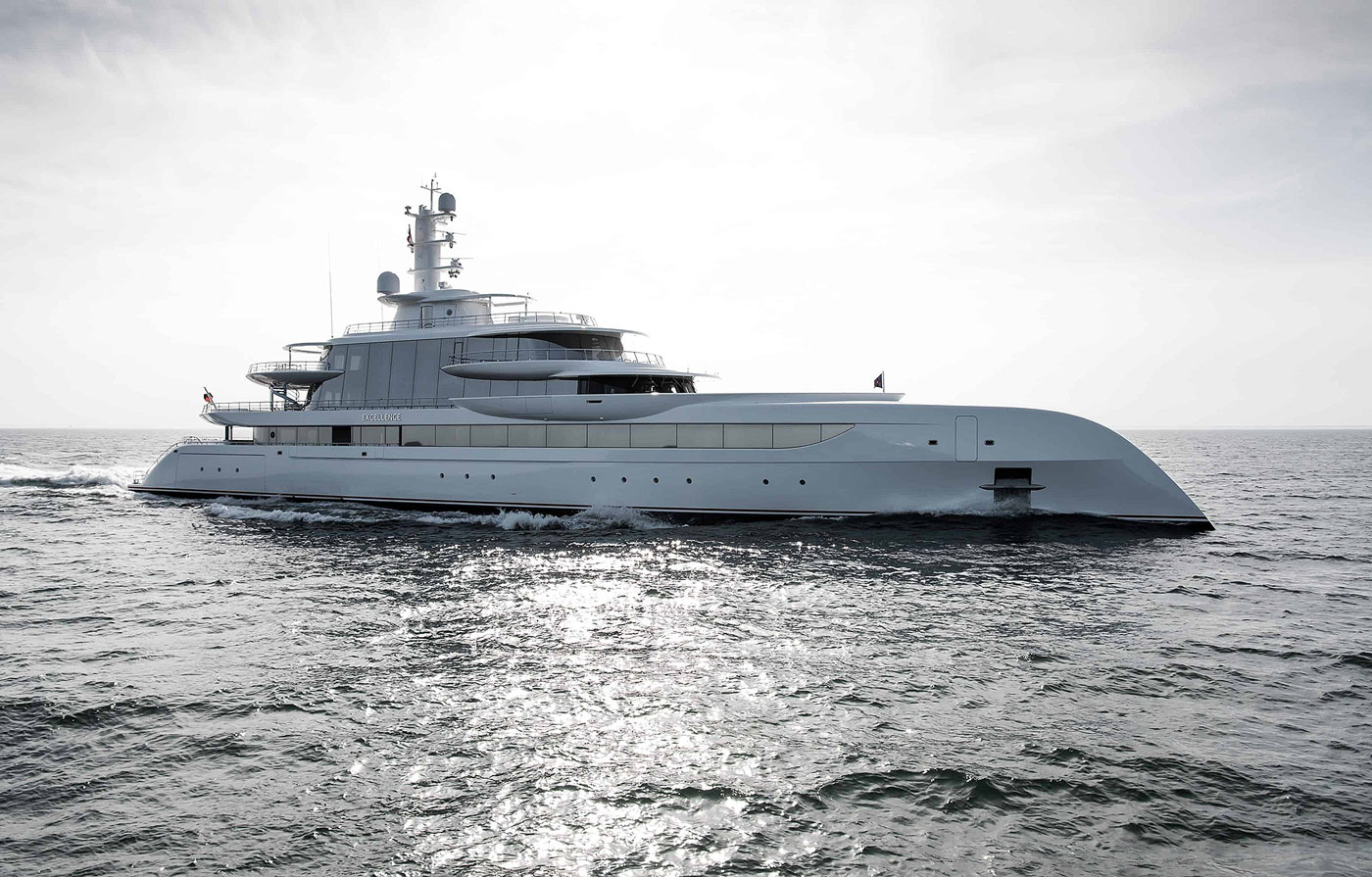 M/Y EXCELLENCE, 79.95m Motor Yacht by ABEKING & RASMUSSEN, showcased at Monaco Yacht Show 2019 | FINEST LIVING | Finest Residences
