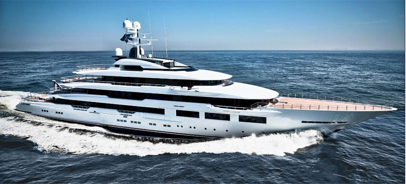 M/Y DREAMBOAT, 90m Motor Yacht by OCEANCO, showcased at Monaco Yacht Show 2019 | FINEST LIVING | Finest Residences