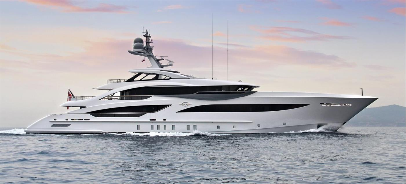 M/Y GALVAS, 56m Motor Yacht by HEESEN YACHTS, showcased at Monaco Yacht Show 2019 | FINEST LIVING | Finest Residences