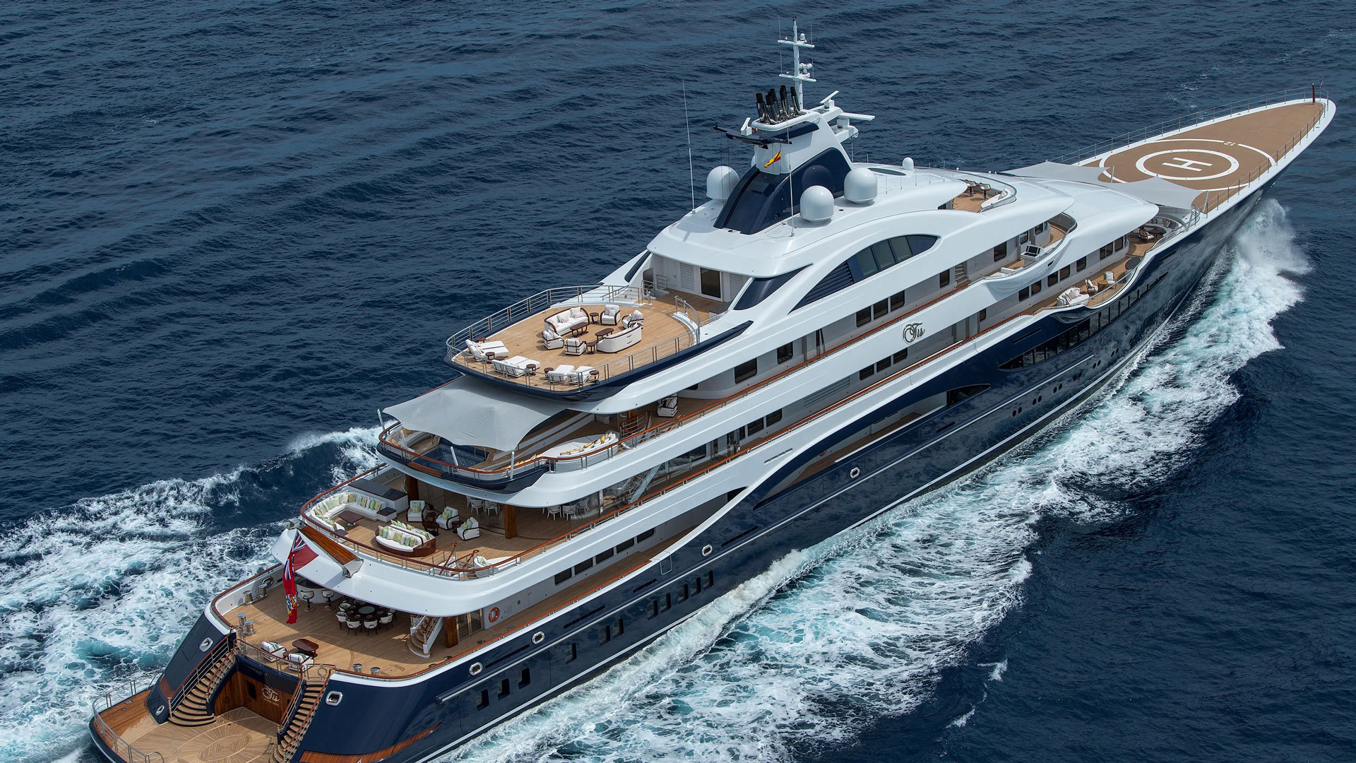 M/Y TIS, 111m Motor Yacht by LÜRSSEN, showcased at Monaco Yacht Show 2019 | FINEST LIVING | Finest Residences