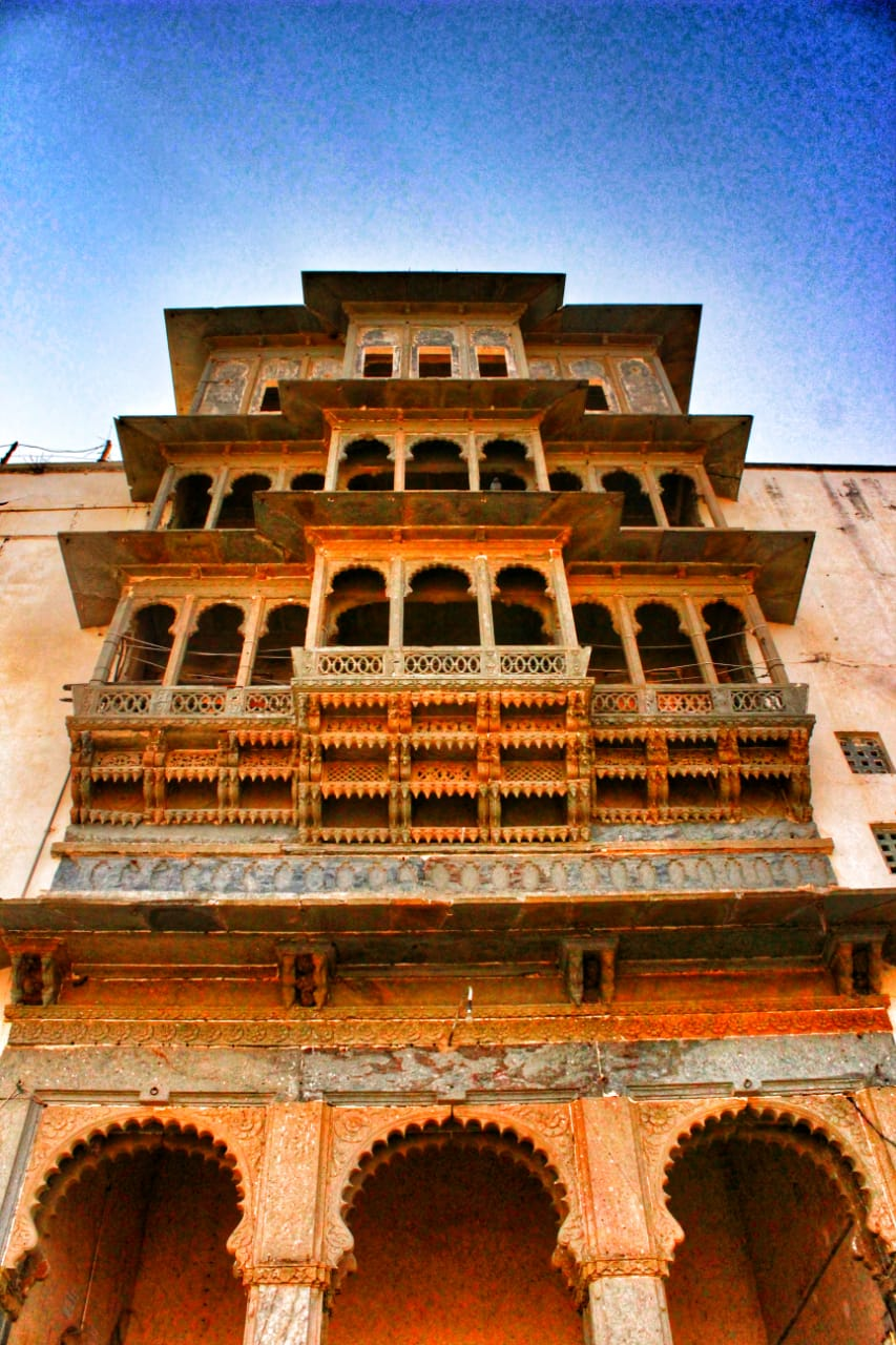 The Monsoon Palace, Udaipur, Rajasthan - Front entrance   Finest Residences