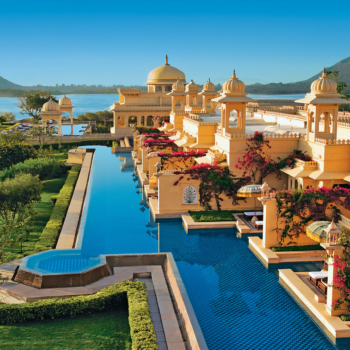 The Oberoi Udaivilas, Udaipur, Rajasthan. The semi-private-pools | Finest Secrets |Finest Residences