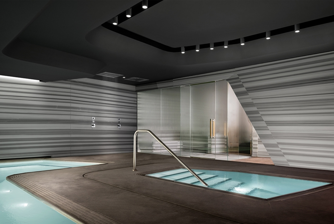 Zaha Hadid Penthouse, 520 West 28th Street, Chelsea, New York | The Spa | Corcoran | Finest Residences