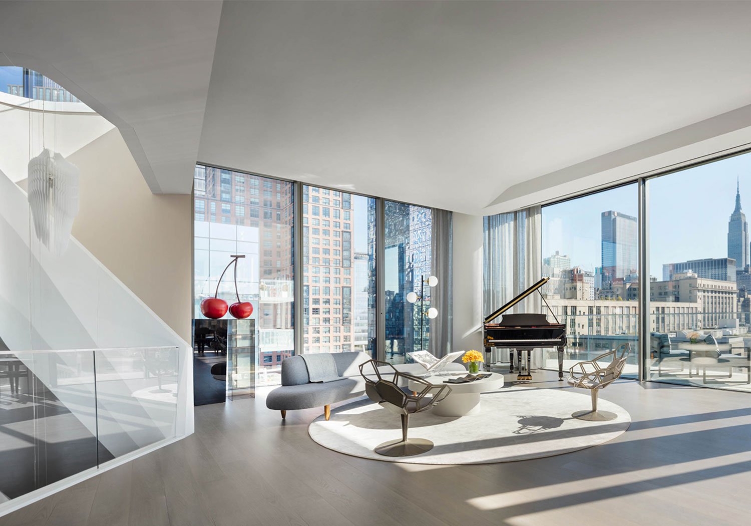 Zaha Hadid Penthouse, 520 West 28th Street, Chelsea, New York | A Living View |Corcoran | Finest Residences