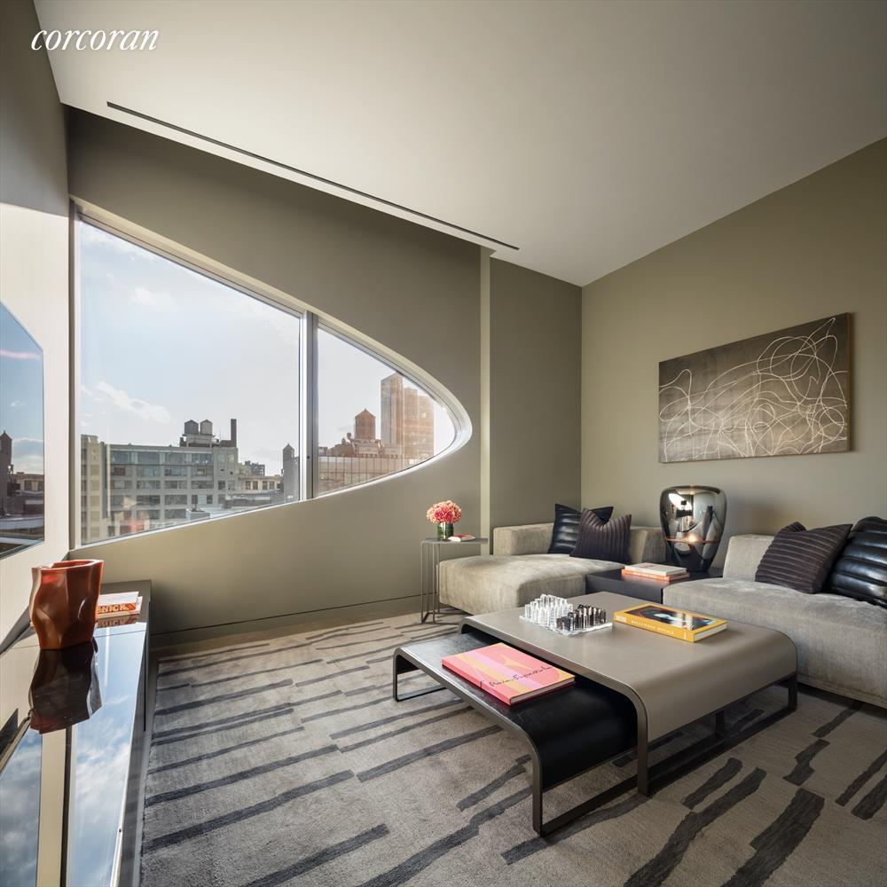Zaha Hadid Penthouse, 520 West 28th Street, Chelsea, New York | Corcoran | Finest Residences