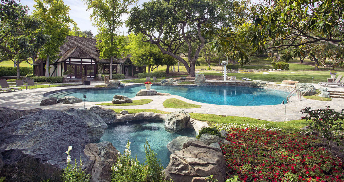 Neverland, the iconic Sycamore Valley Ranch | The lake | Presented by Suzanne Perkins, Compass | Finest Residences