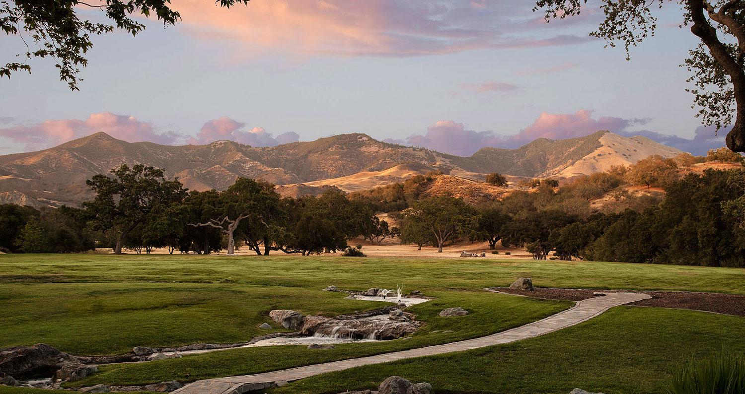 Neverland, the iconic Sycamore Valley Ranch | A landscape | Presented by Suzanne Perkins, Compass | Finest Residences