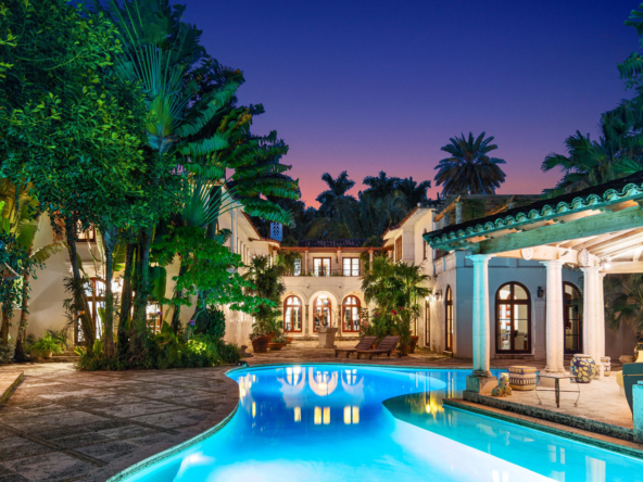3725 Leafy Way, Coconut Grove, Miami, Florida, USA |A Pool | Listed by Dennis Carvajal, Real Estate Agent, ONE Sotheby's International Realty | Finest Residences