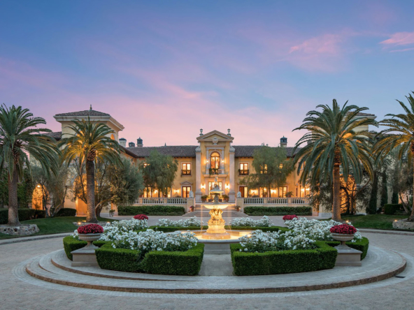Villa Firenze, Exceptional Luxury Mansion in Beverly Hills, California | Listed by Jeff Hilton, Hilton & Hyland | Selected by Finest Residences