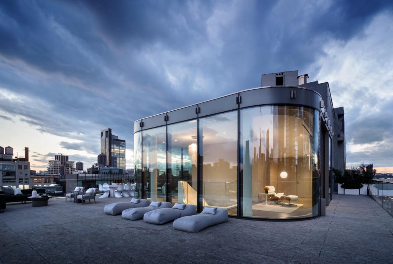 Zaha Hadid Penthouse, 520 West 28th Street | Corcoran | Finest Residences | © Photo Scott Frances