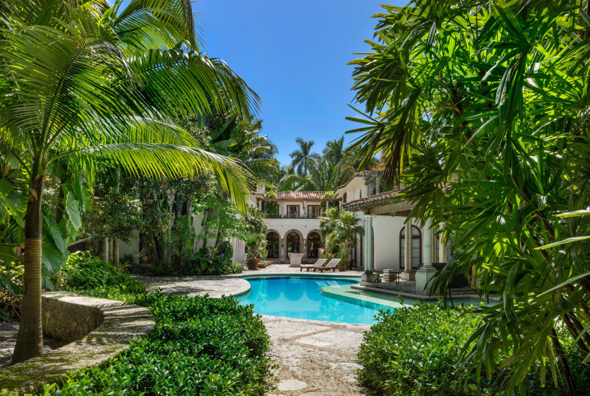 3725 Leafy Way, Coconut Grove, Miami, Florida, USA | The Property in the Gardens | Listed by Dennis Carvajal, Real Estate Agent, ONE Sotheby's International Realty | Finest Residences