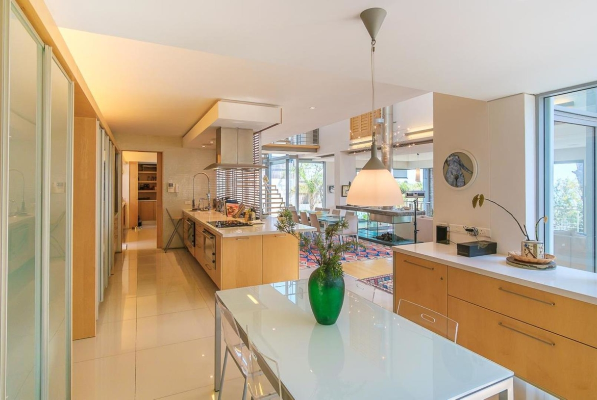 Sea side property in Cape Town, South Africa | Dining Room in Kitchen |Jawitz Properties | Finest Residences