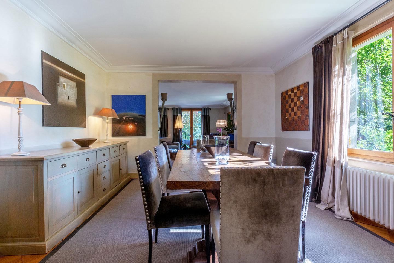 Splendid Property For Sale in Geneva Left Bank, Collonge-Bellerive | Dining Room |Presented by Finest International | Finest Residences