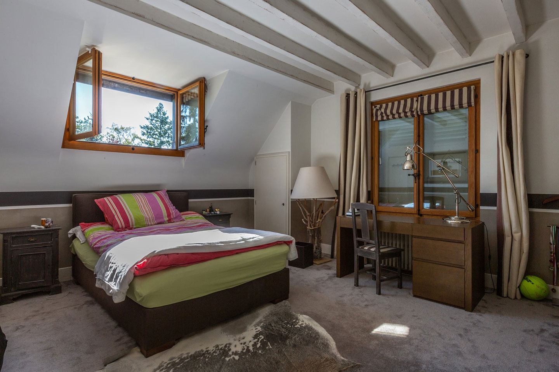 Splendid Property For Sale in Geneva Left Bank, Collonge-Bellerive | A Bedroom |Presented by Finest International | Finest Residences