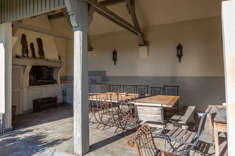 Splendid Property For Sale in Geneva Left Bank, Collonge-Bellerive | Summer Kitchen |Presented by Finest International | Finest Residences