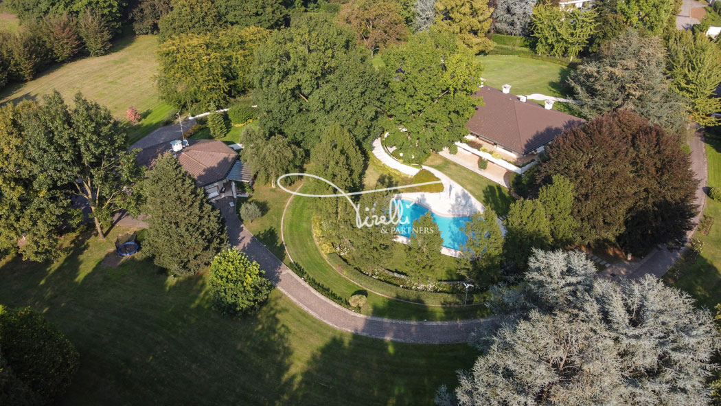 Superb Villa in Casatenovo, Italy • Listed by Marco Ettore Tirelli, CEO of Tirelli & Partners • FINEST RESIDENCES