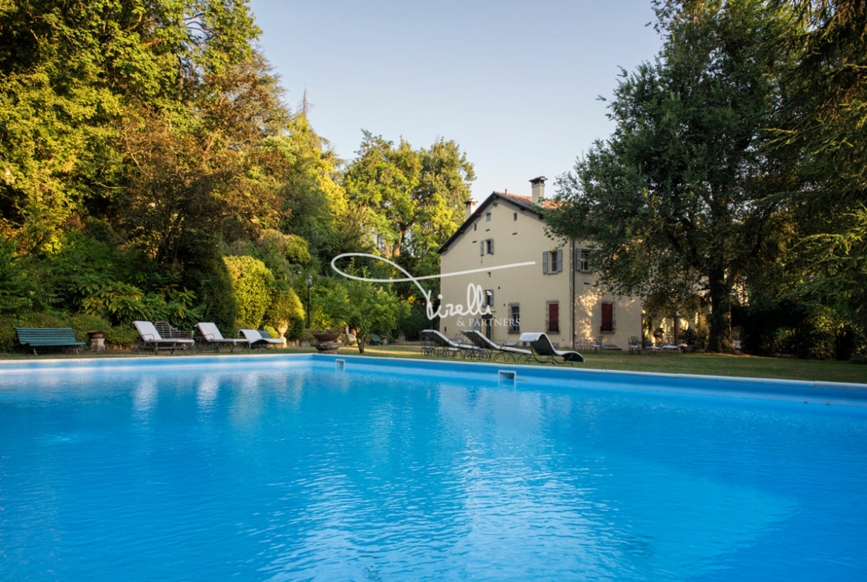 Villa Talon Sampieri, 17th Century Villa in Bologna, Italy • Listed for sale by TIRELLI & PARTNERS | A Member of Finest Residences