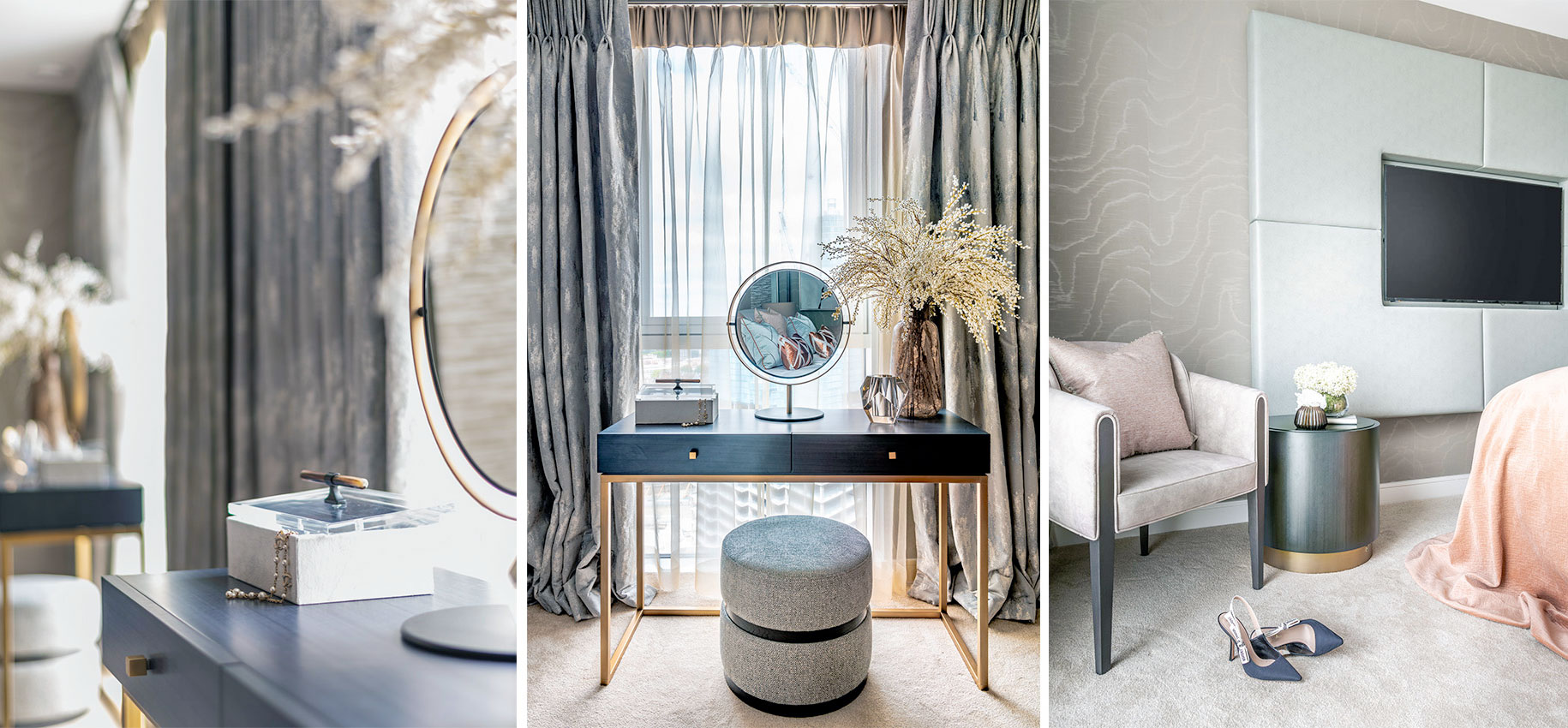 Tailored Living Interiors • Gladwin Tower |FINEST RESIDENCES