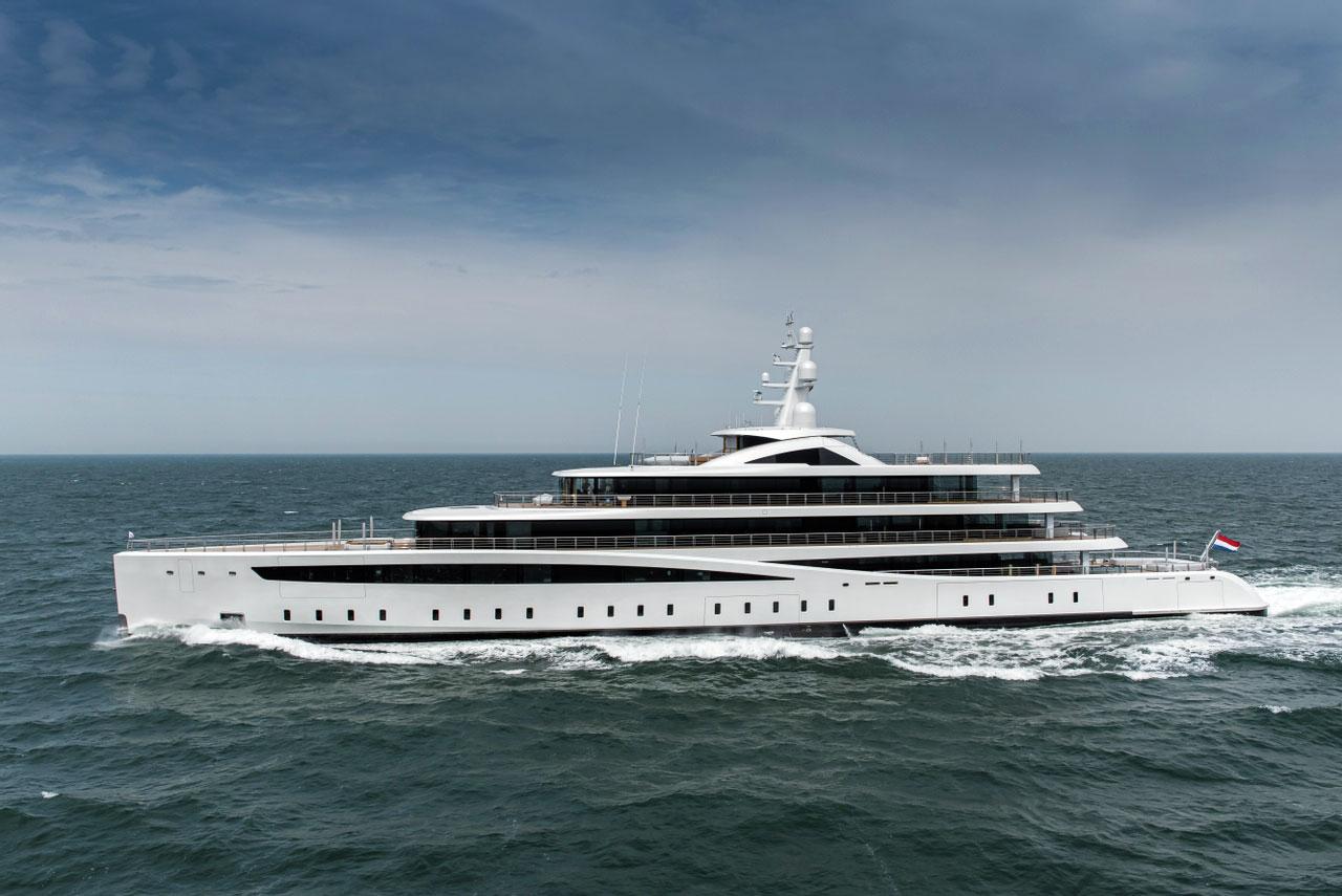VIVA, Feadship, 94m, 2021 • Monaco Yacht Show 2021 | FINEST RESIDENCES